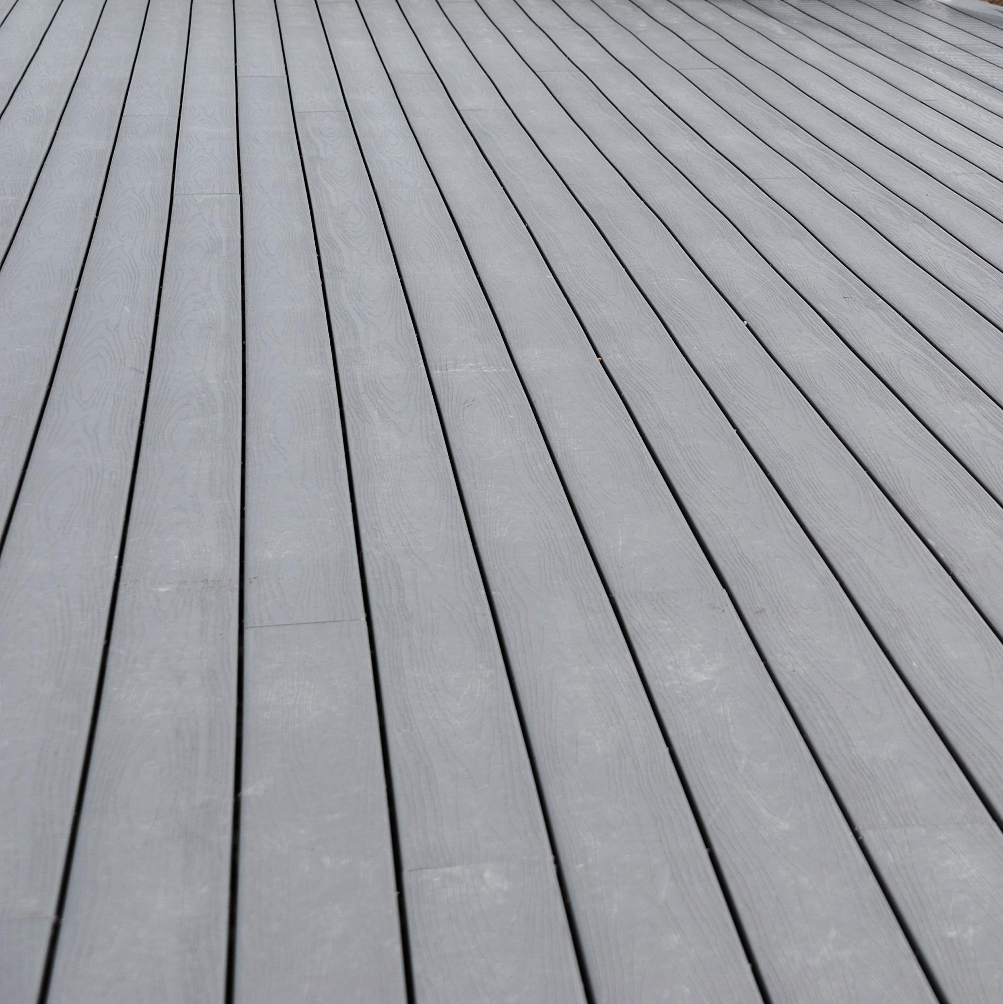 Silver composite decking bristol