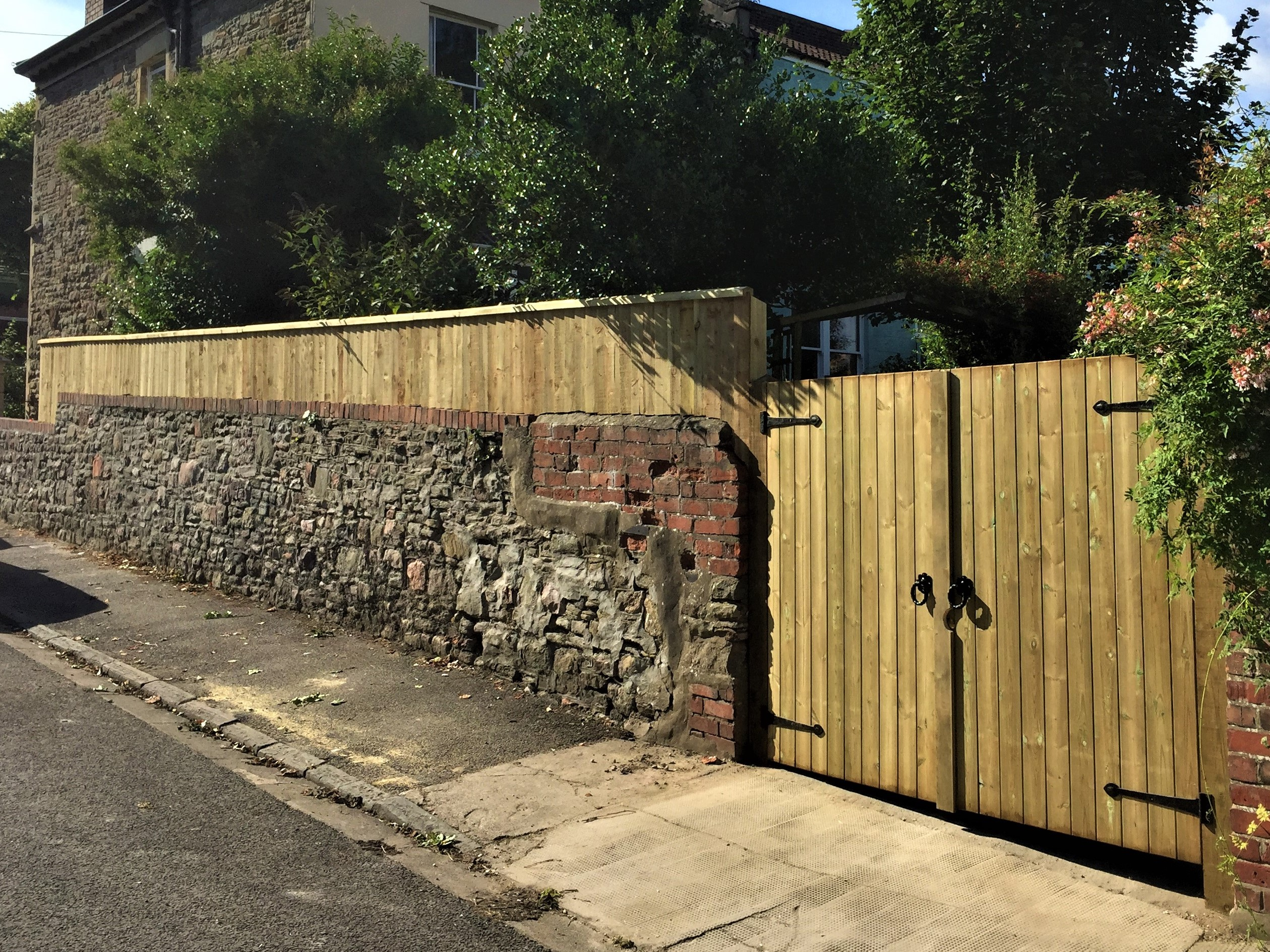 Gates and fence