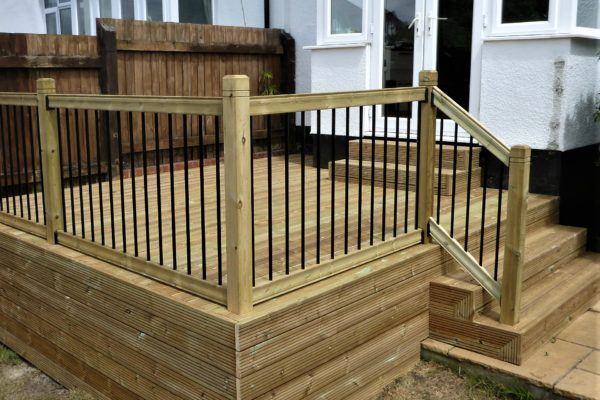 Timber decking Bristol